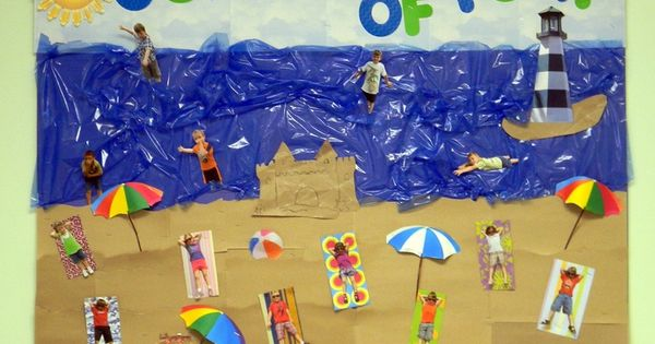7 Inspiring Kid Room Color Options For Your Little Ones: Summer Camp Bulletin Board Ideas