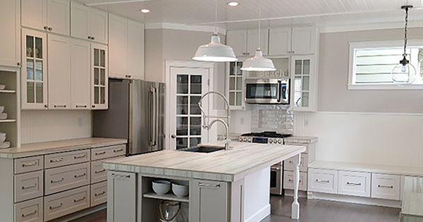 Vancouver washington kitchen renovation features cliqstudios dayton painted urban stone cabinets for Kitchen cabinets vancouver wa