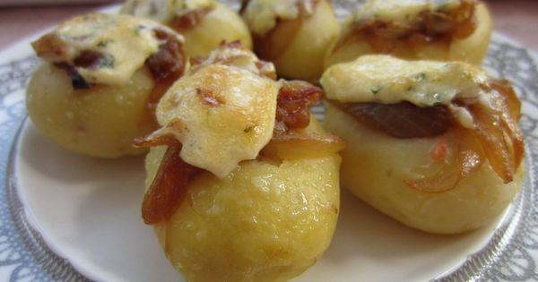 Patatas con cebolla confitada y salm n qu delicia - Platos gourmet con pescado ...
