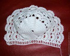 قبعة كروشية للمولودة Victorian Crocheted Hat Crochet Baby Cap Crochet Baby Hats Baby Girl Crochet