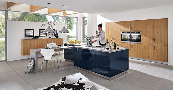 Die einbauküche inklusive aeg elektrogeräten ist für profi und hobbyköche gleichermaßen geeignet kitchen home living fur pinteres