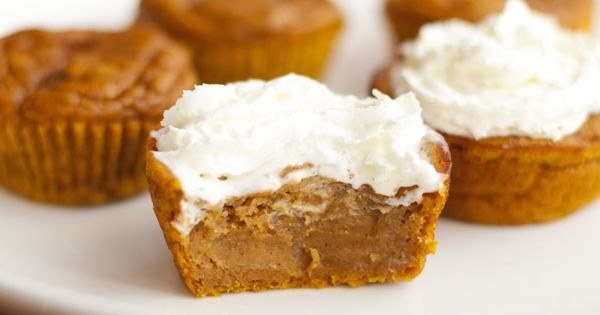 pumpkin pie cupcakes. these look delicious! baking cupcakes pumpkin recipe dessert fall