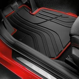 Genuine Oem Bmw All Weather Floor Mats Sport Line Set Of 4 Includes 2 Front 2 Rear Mats Fits 328i Sedans And 335i With Images Bmw Accessories Floor Mats Bmw Black