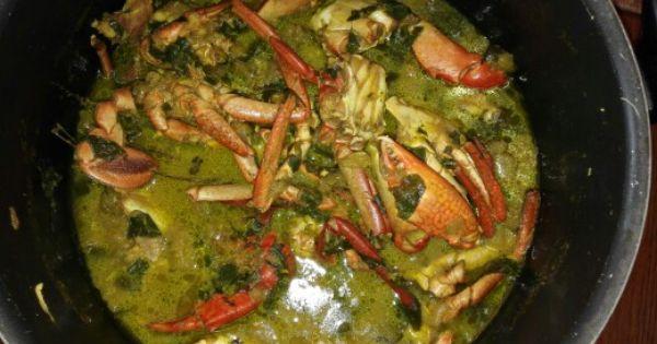 Calalou de crabes de guadeloupe ile de la cara bes fran aises cuisine de guadeloupe pinterest - Cuisine de la guadeloupe ...