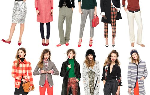 JCrew Winter Outfits. not the most practical in indiana, but cute nevertheless.