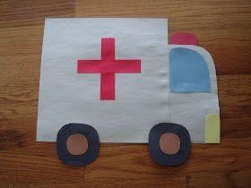 ambulance craft for kids | Crafts and Worksheets for Preschoo ...