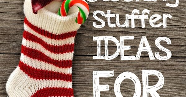 Christmas - stocking stuffer ideas - some of these are great, some