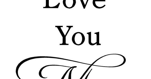 .i love you quote