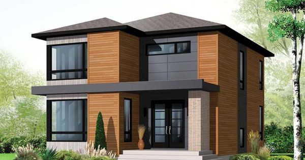 contemporary prairie style home Contemporary Nontraditional and
