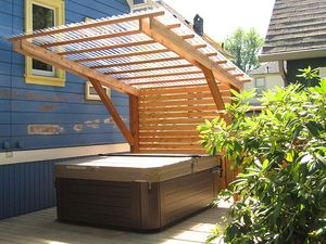 Outsideup Hot Tub Patio Hot Tub Garden Hot Tub Shelters