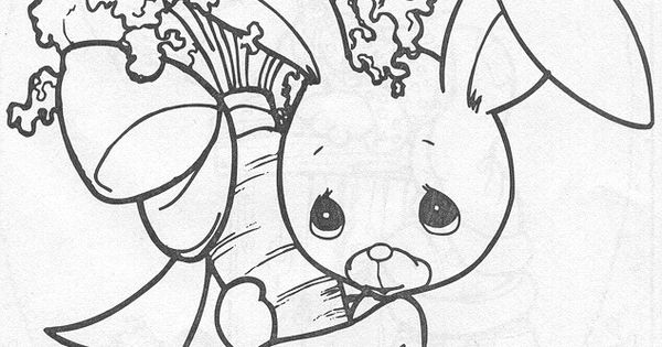precious moments coloring pages cow - photo#44