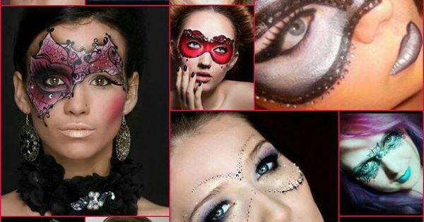 Halloween makeup  - picture