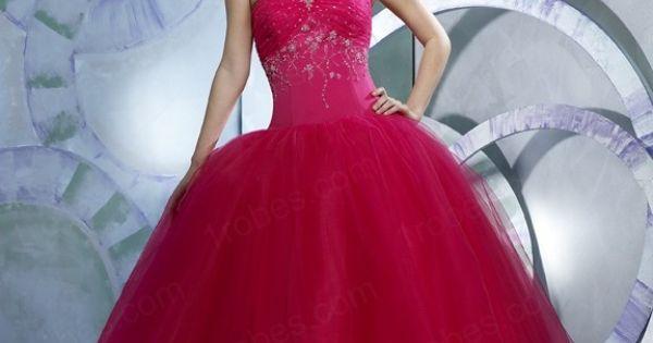 Robes De Mariée De L Avec Une Jupe Comme Boule Rouge Wc0069  robe de ...