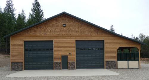 Pole barn images google search for the home for Building a garage apartment