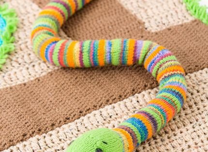 Red Heart Free Crochet Patterns Animals : http://www.redheart.com/free-patterns/friendly-snake ...
