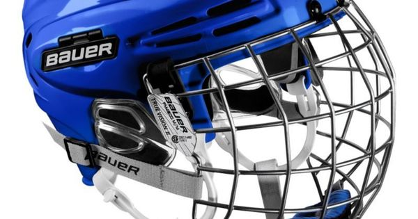 Bauer Senior 5100 Ice Hockey Helmet Combo Blue Hockey Helmet Nhl Hockey Players Ice Hockey