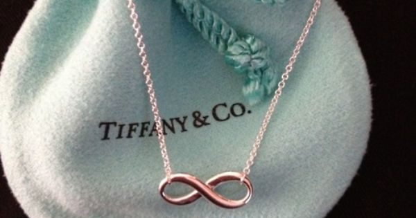 tiffany infinity... Love infinity signs... Oh honey!!!! ;)