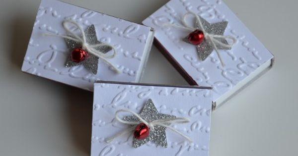 weihnachtliche streichholzschachteln verpackungen. Black Bedroom Furniture Sets. Home Design Ideas