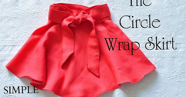 How to take a simple circle skirt pattern and turn it into