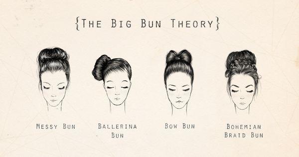 four classic bun styles
