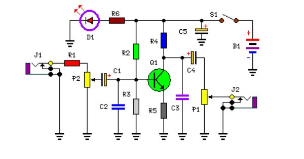 Bass Booster Circuit Circuit Diagram Bass Circuit