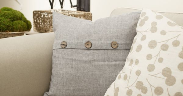 Decorative Pillows At Hobby Lobby : Gray Throw Pillow from Hobby Lobby Christmas Pinterest Grey throws, Hobby lobby and Hobbies