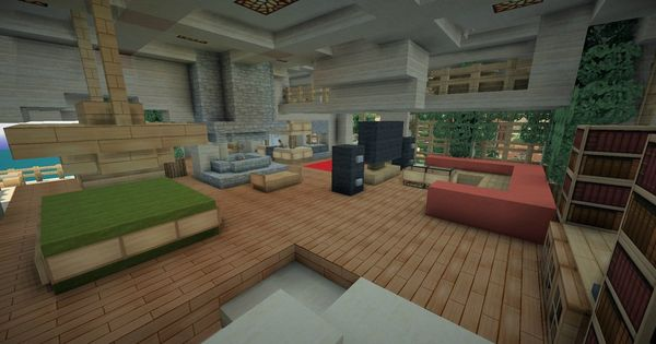 Furniture House Ideas: Minecraft Furniture