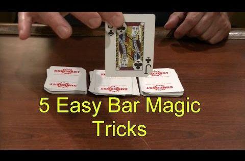 5 Easy Bar Magic Tricks Epic Cool Simple Magic Trick Youtube Magic Tricks Easy Magic Tricks Easy Magic