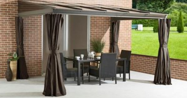 Deck roof house pinterest shelters home depot and for Abri mural gazebo