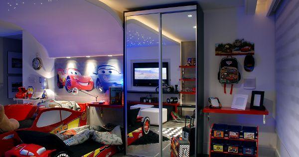 Dormitorio rayo mcqueen cars cars pinterest rayo for Cuartos decorados rayo mcqueen