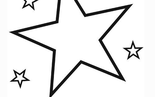 Dibujos De Estrellas Para Colorear E Imprimir: Estrellas Para Colorear E Imprimir