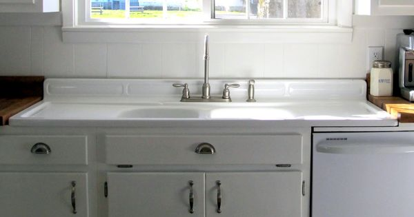Old Fashioned Sinks Kitchen With Side Boards Farmhouse