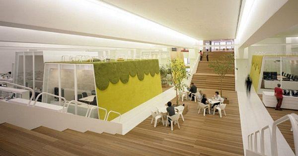 Bureaux de tbwa tokyo bureaux insolites originaux pinterest bureau energie positive - Bureau originaux ...
