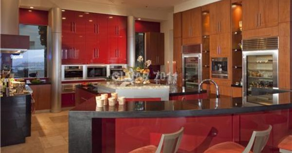 Love this henderson nevada home 39 s red and brown kitchen for Bathroom remodel henderson nv