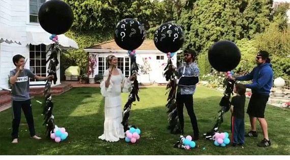 Hudson Inspired Gender Reveal Balloon Balloon Spray Question Etsy Gender Reveal Balloons Gender Reveal Gender Reveal Party