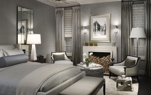 Contemporary Grey Bedroom Ideas For The Modern People: Beautiful Bedroom Design With