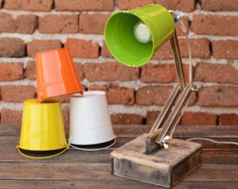 Wooden Desk Lamp Adjustable Lamp Night Lamp Reading Lamp Lampe