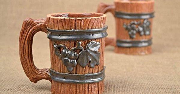 Large Beer Mug Ceramic Mug Handmade Pottery Kitchen Decoration Gift For Him Craft Area Craft Room Handmade Pottery
