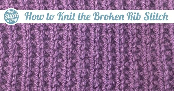 Learn How To Knit : ... learn this stitch: http://su.pr/8ncNVJ ?#yarn #knitting Knitting