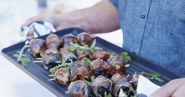 Grilled Figs with Prosciutto and Goat Cheese from Scopa ...
