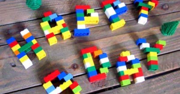 Diy d co anniversaire enfants constructions lego g teaux construction et - Idee construction lego ...
