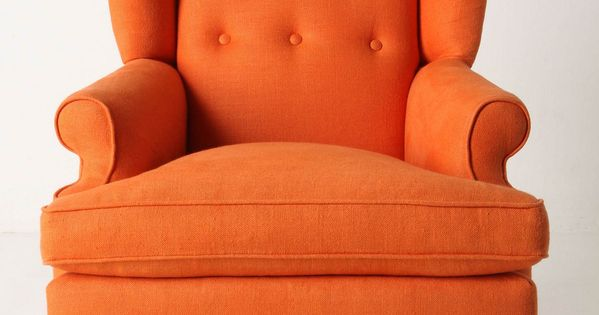 This would be a nice accent chair, in my favorite color of
