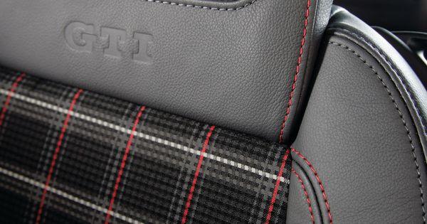 Vw Gti 0 60 >> interior interlagos plaid fabric | VW GTI Dress Inspiration | Pinterest | Plaid fabric
