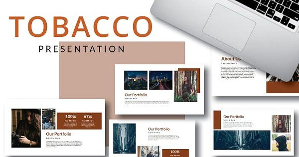 Tobacco Powerpoint Template – for business and corporate use