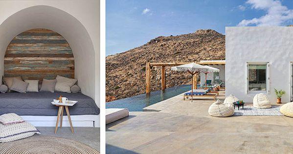 Dos fabulosas casas de veraneo en syros islas griegas for Casas en islas griegas