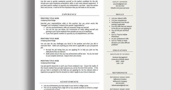 modern resume tips