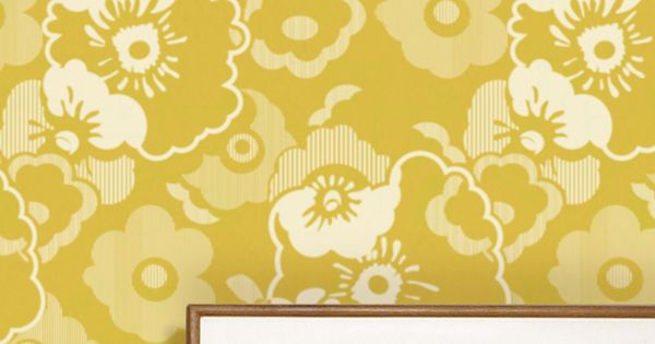 Wallpaper by Mini Moderns This beautiful wallpaper, Alice, was inspired by a