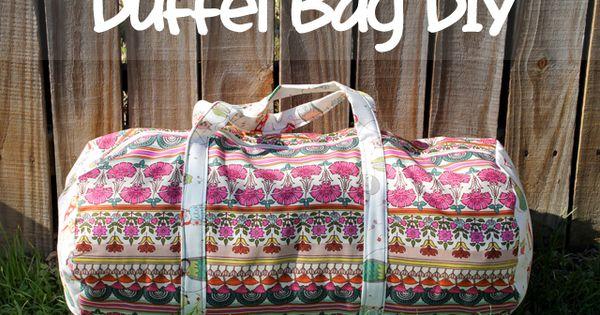Duffle bag DIY