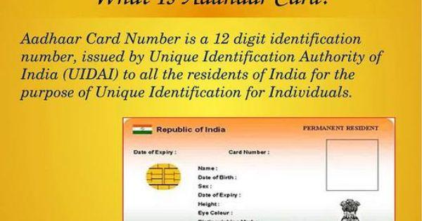 Know How To Download Aadhaar Card Number And Print Online Aadhar