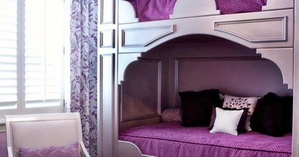 30 Cool And Playful Bunk Beds Ideas Window Curtains